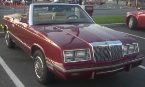 '85-'86_Chrysler_LeBaron_Convertible