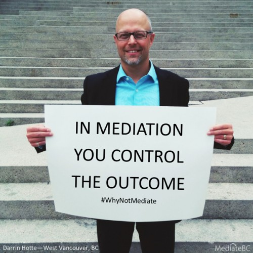 Why not mediate? Conflict Resolution Week 2015